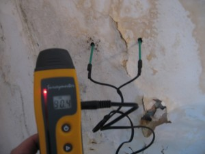 Deep wall probes in use