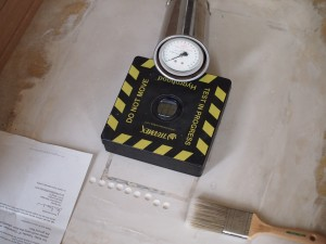 Floor screed testing