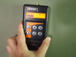 Hand held electronic moisture meters have a part to play in any credible damp investigation process.