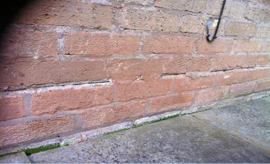 Calcium Silicate Brick : Screen shot at building defect analysis