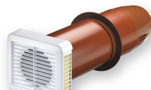 Single room heat recovery fan