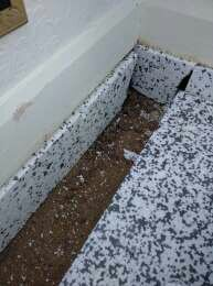 Jablite insulation and upstands