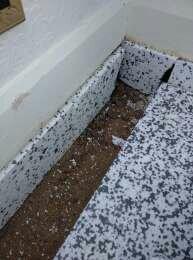 Jablite insulation and upstands