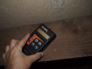 Timber moisture content of 26% means that timbers are at risk of timber decay.