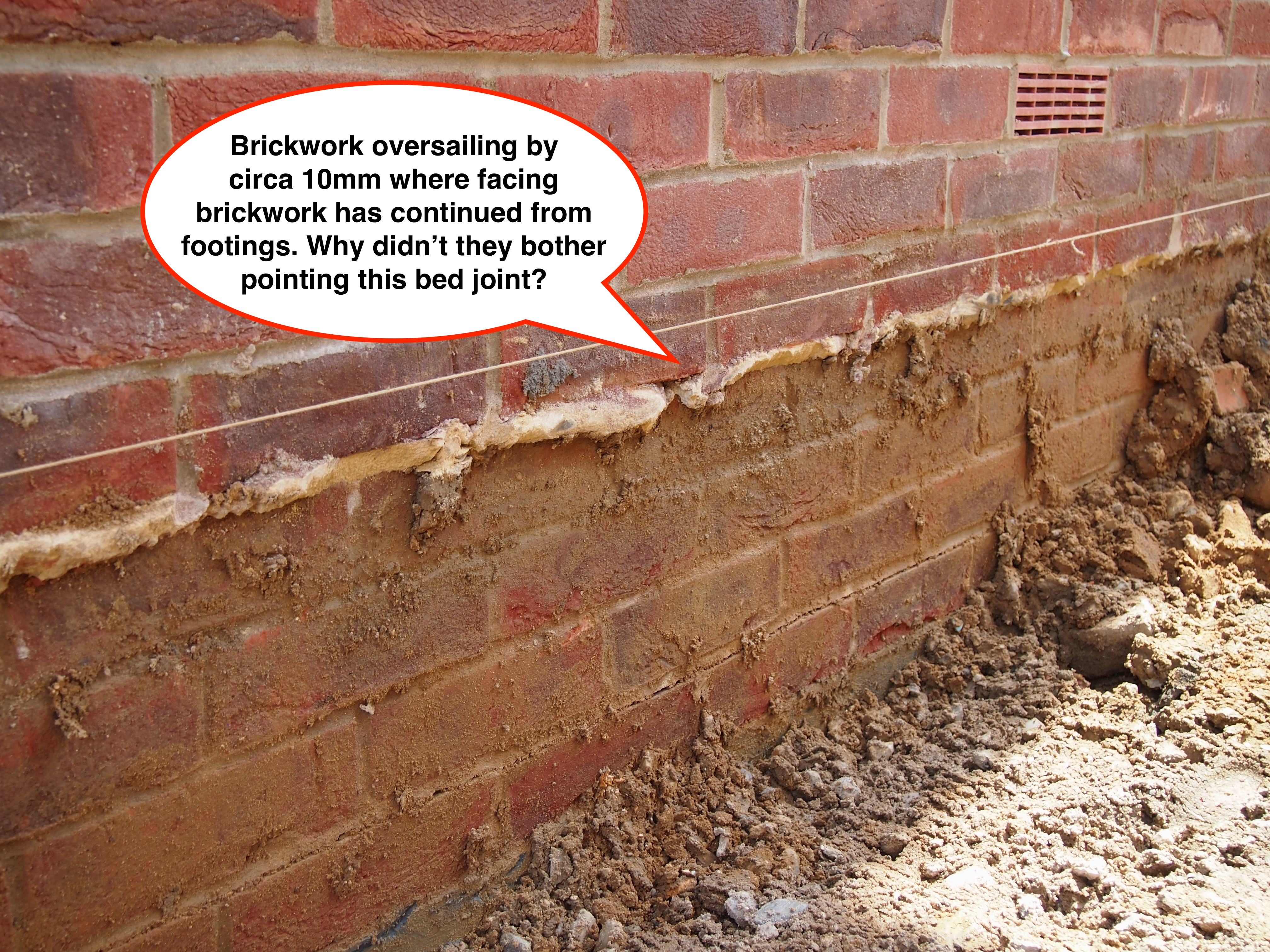 The Worst Brickwork A New Contender Building Defect