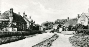 Streetscene proving thatch predated the partial clay tiling