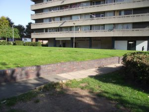 Unloved 1960's Tower Block