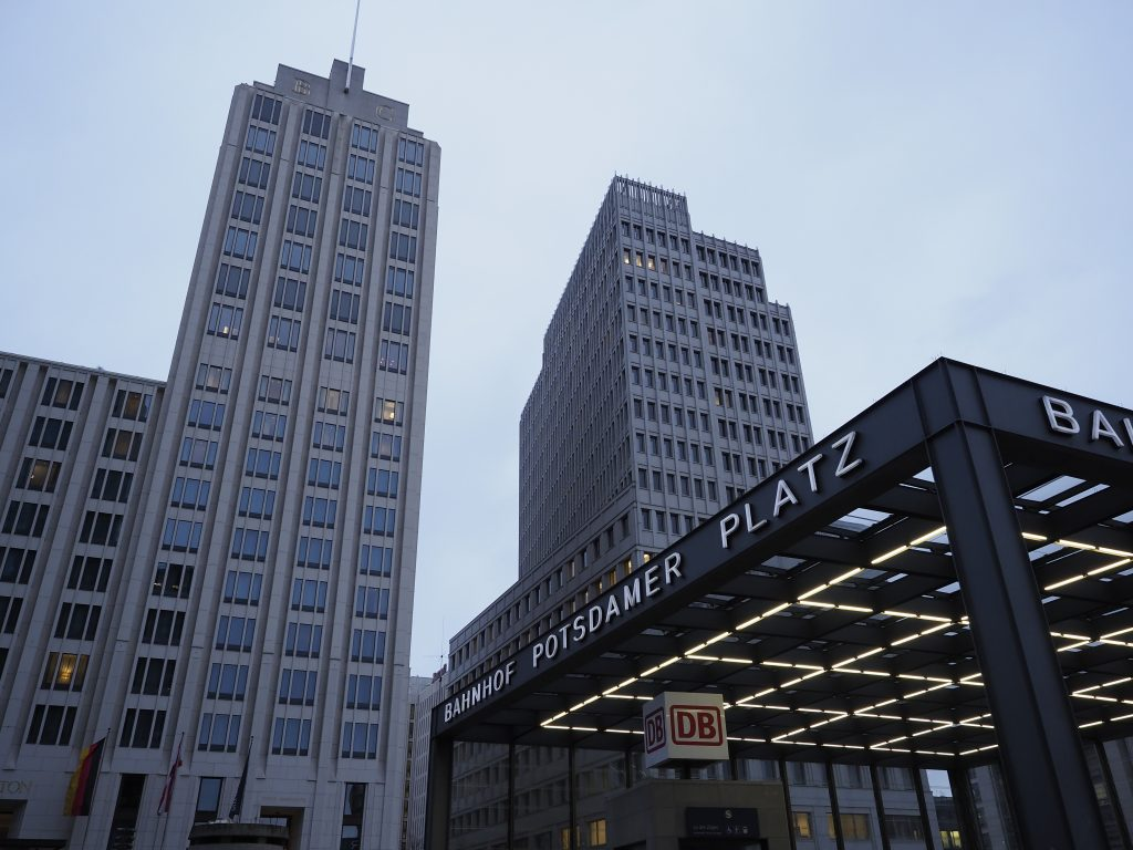 The architecture of Potsdamer Platz